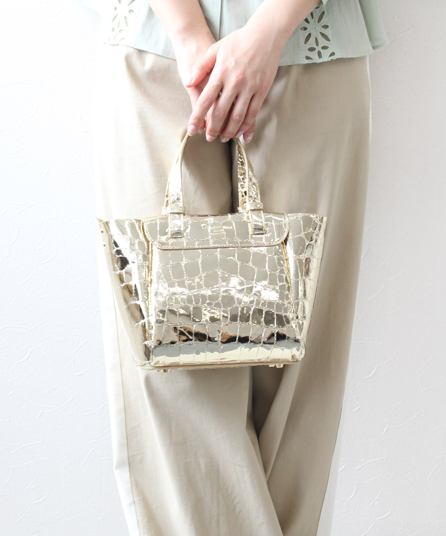 <and GIRL8月号掲載>【 CHRISTIAN VILLA / クリスチャン・ヴィラ 】coco speccio-mini bag★