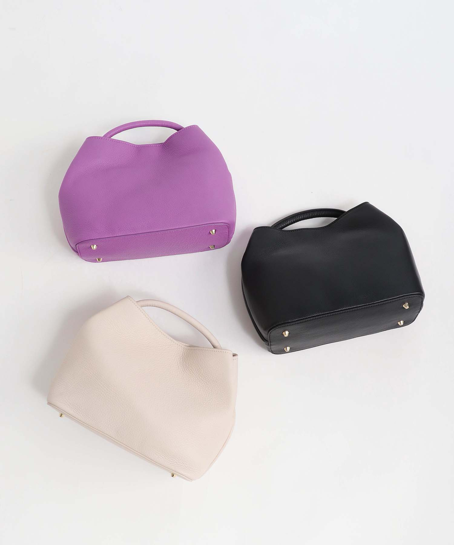 <STORY11月号掲載>牛革ぷっくりBAG