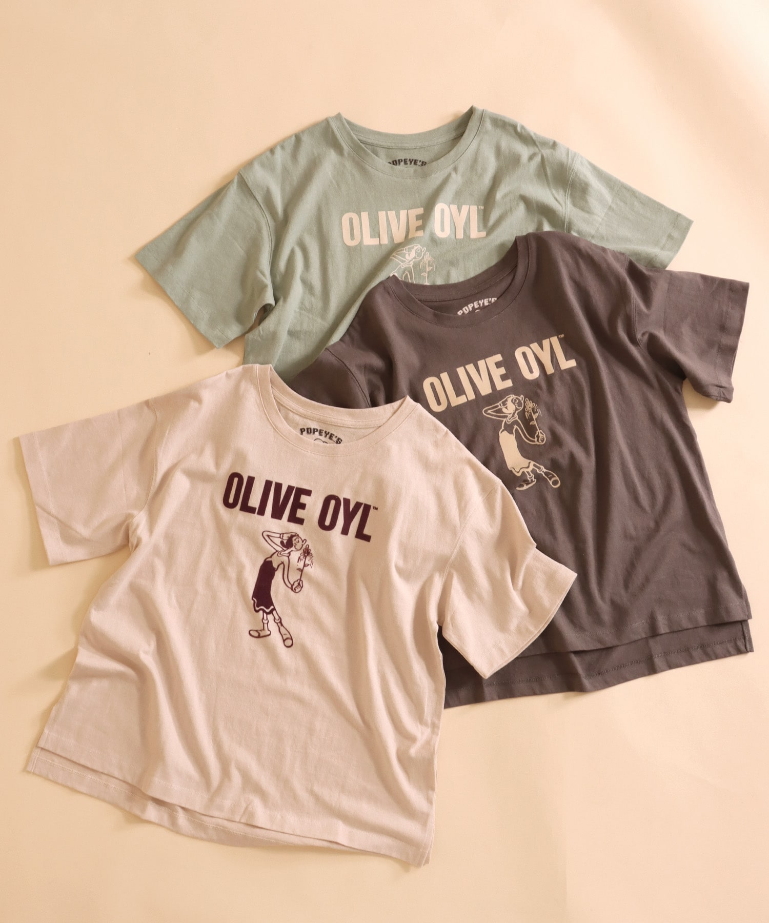 Olive Tシャツ