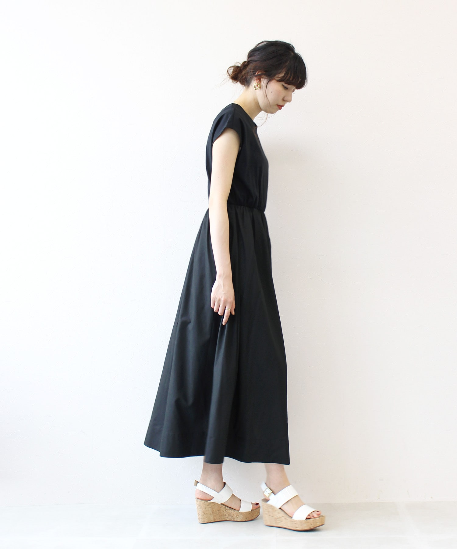 <Sugar Rose>multiply flare dress