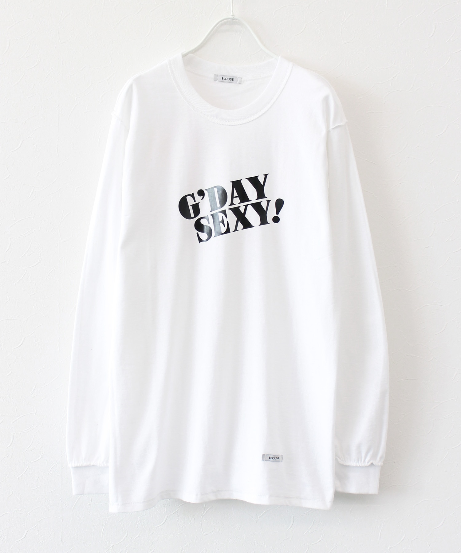 <BLOUSE>gday sexy l/s ロンT