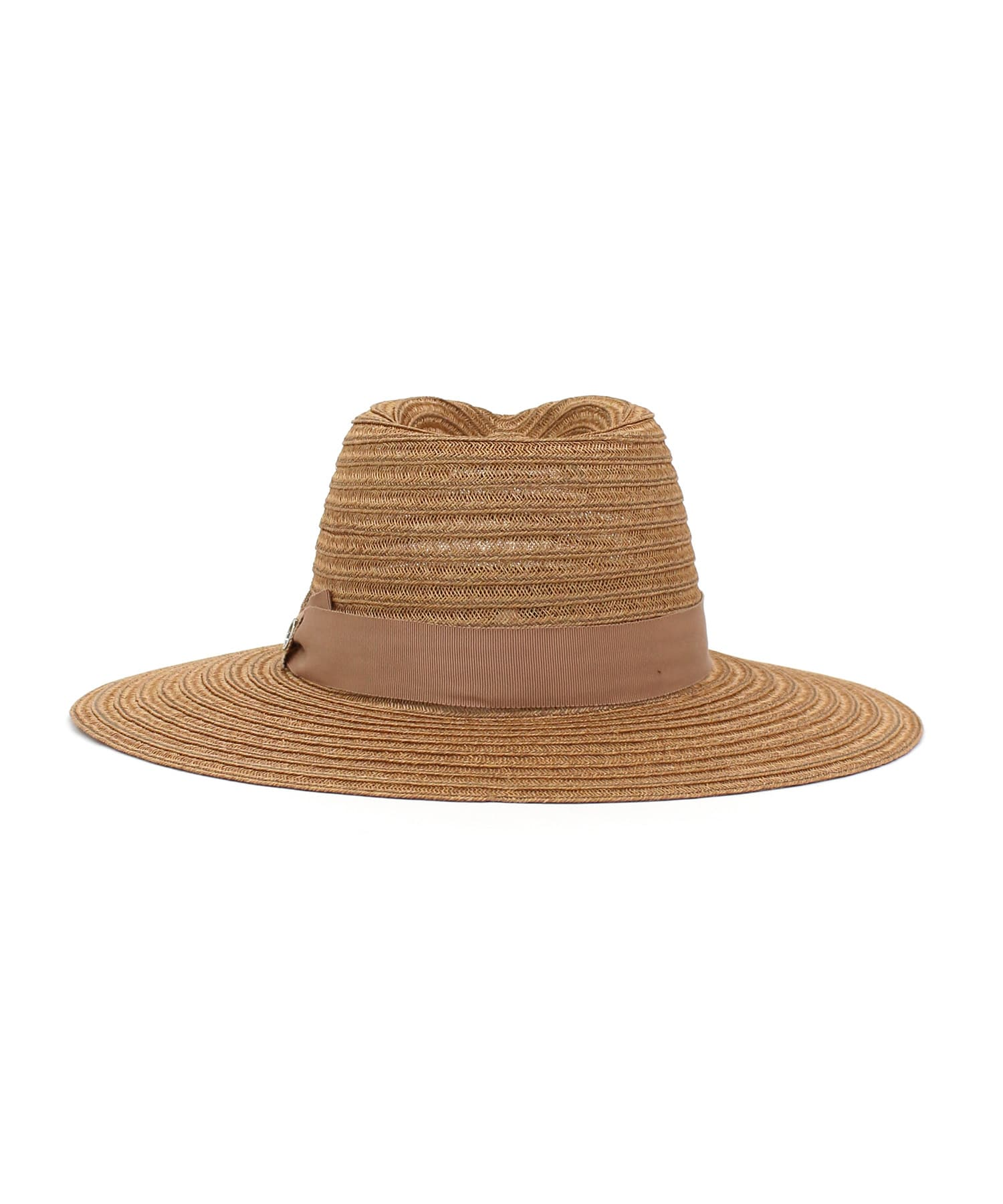 <DON PARIS>Grosgrain straw HAT