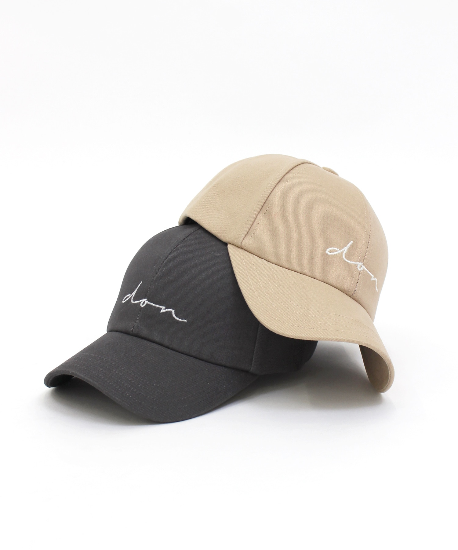 <DON PARIS>cotton logo cap
