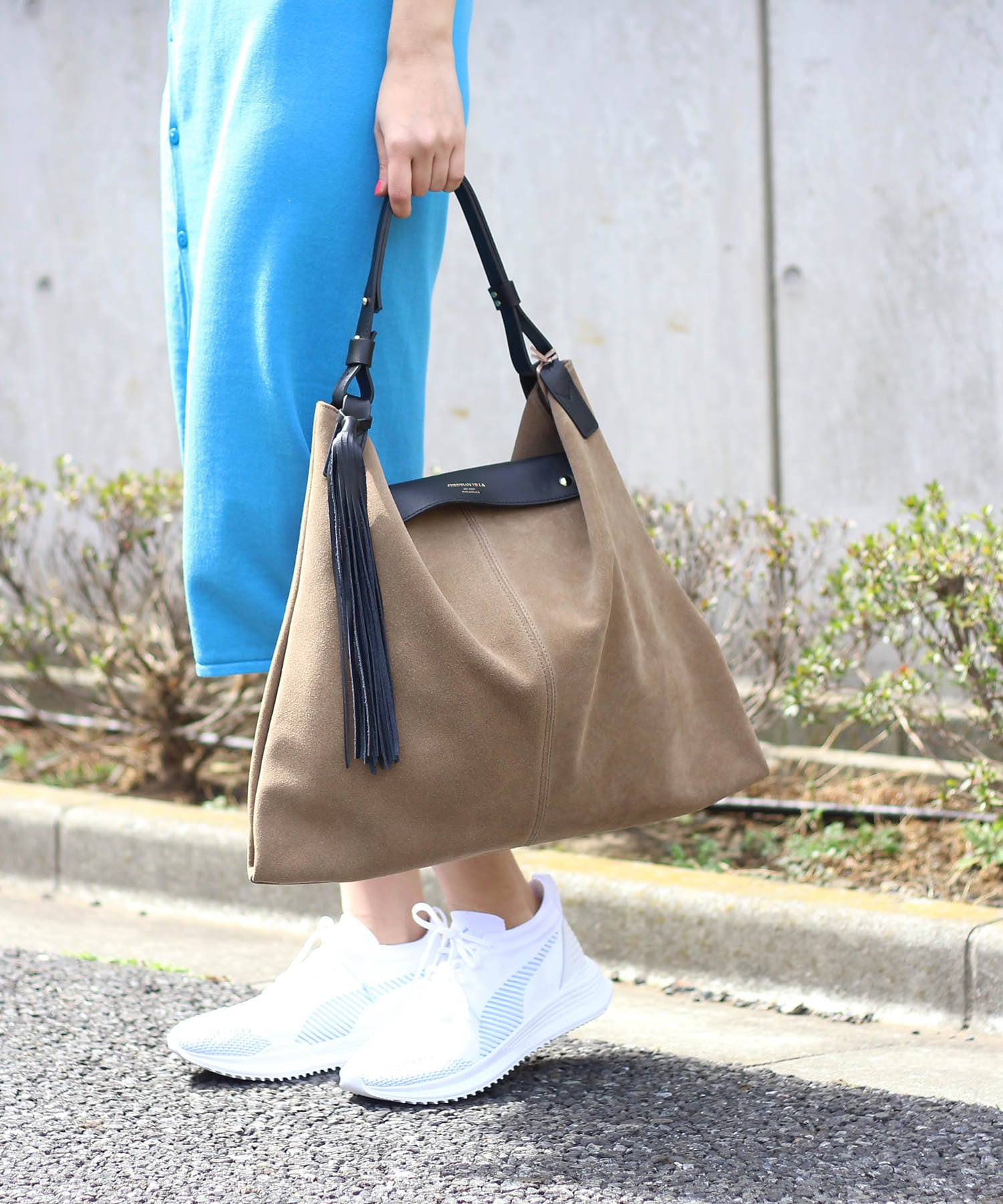 <CHRISTIAN VILLA>ALASKA Long fringe bag