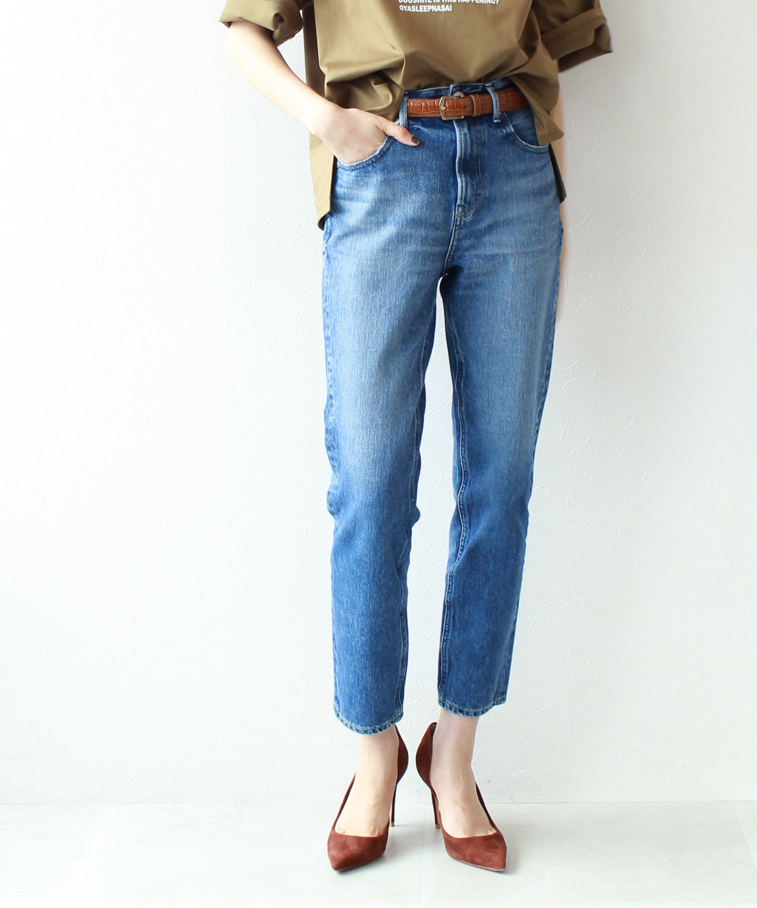 <YANUK>high waist annette pants