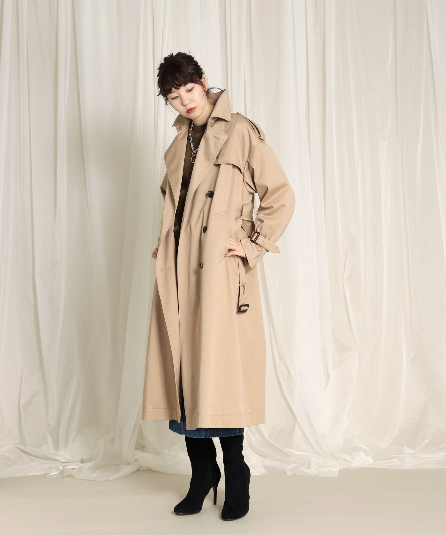 <YANUK>trench coat color