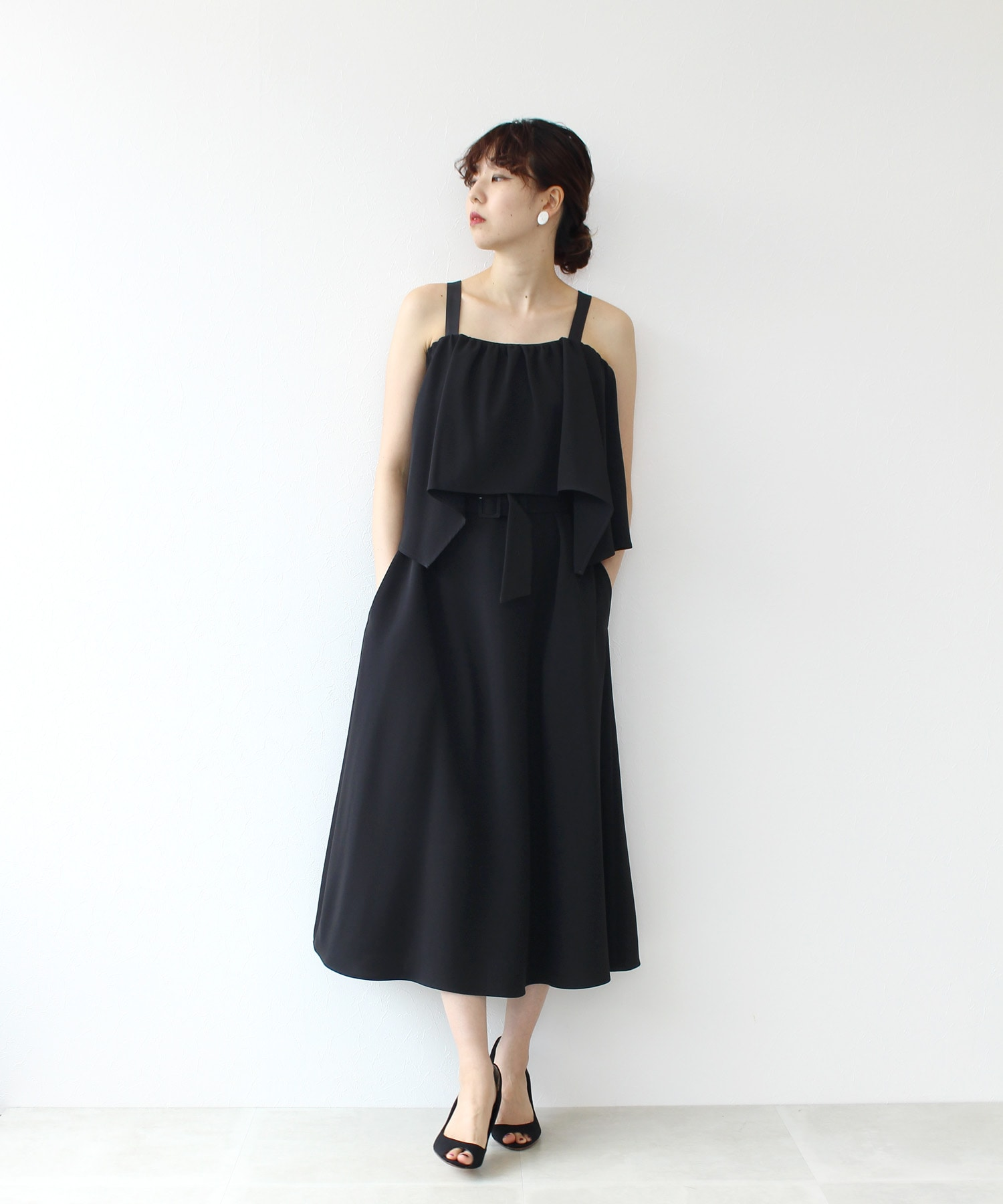 <PEELSLOWLY>off shoulder dress