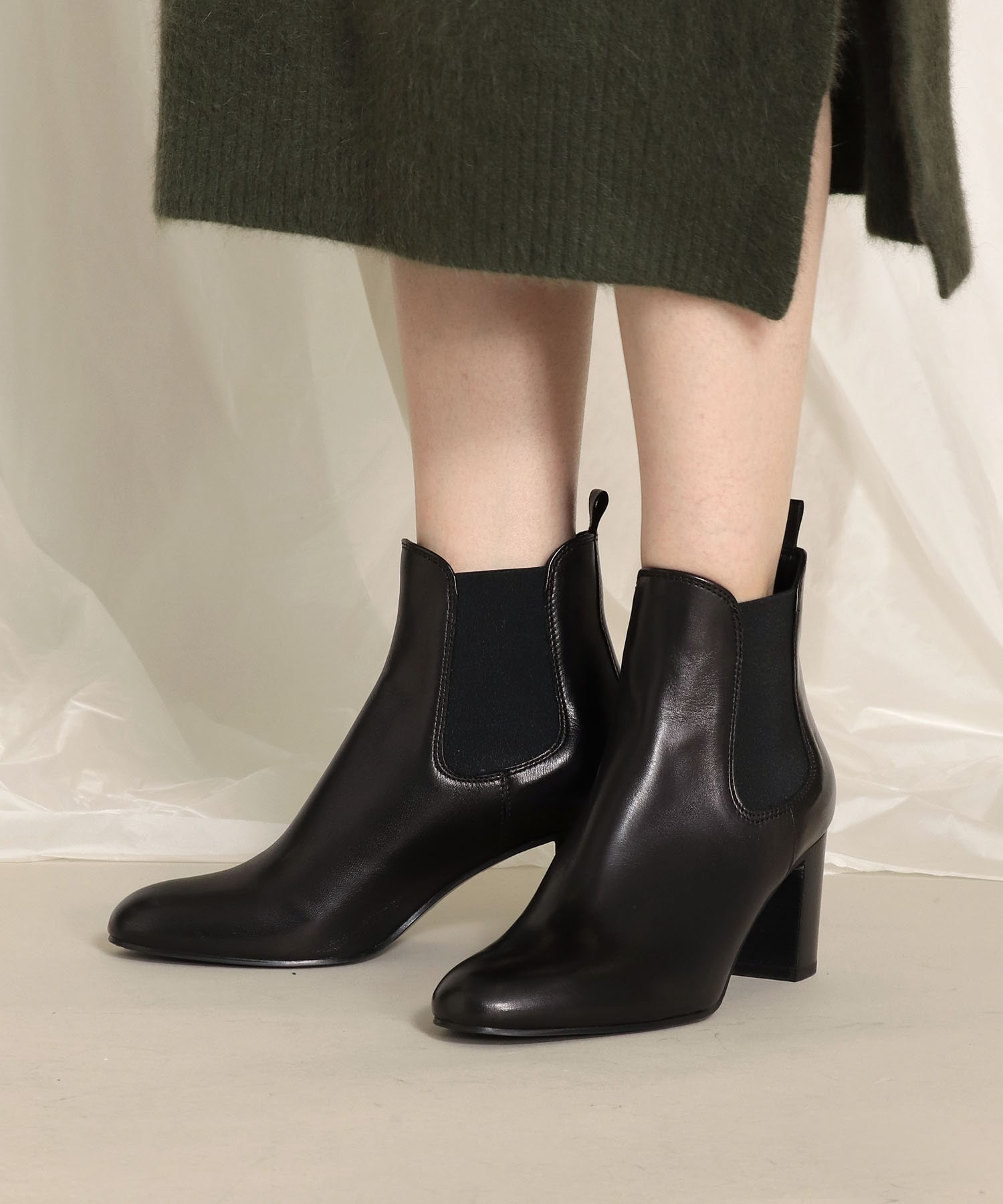 <FABIO RUSCONI>side goa short boots