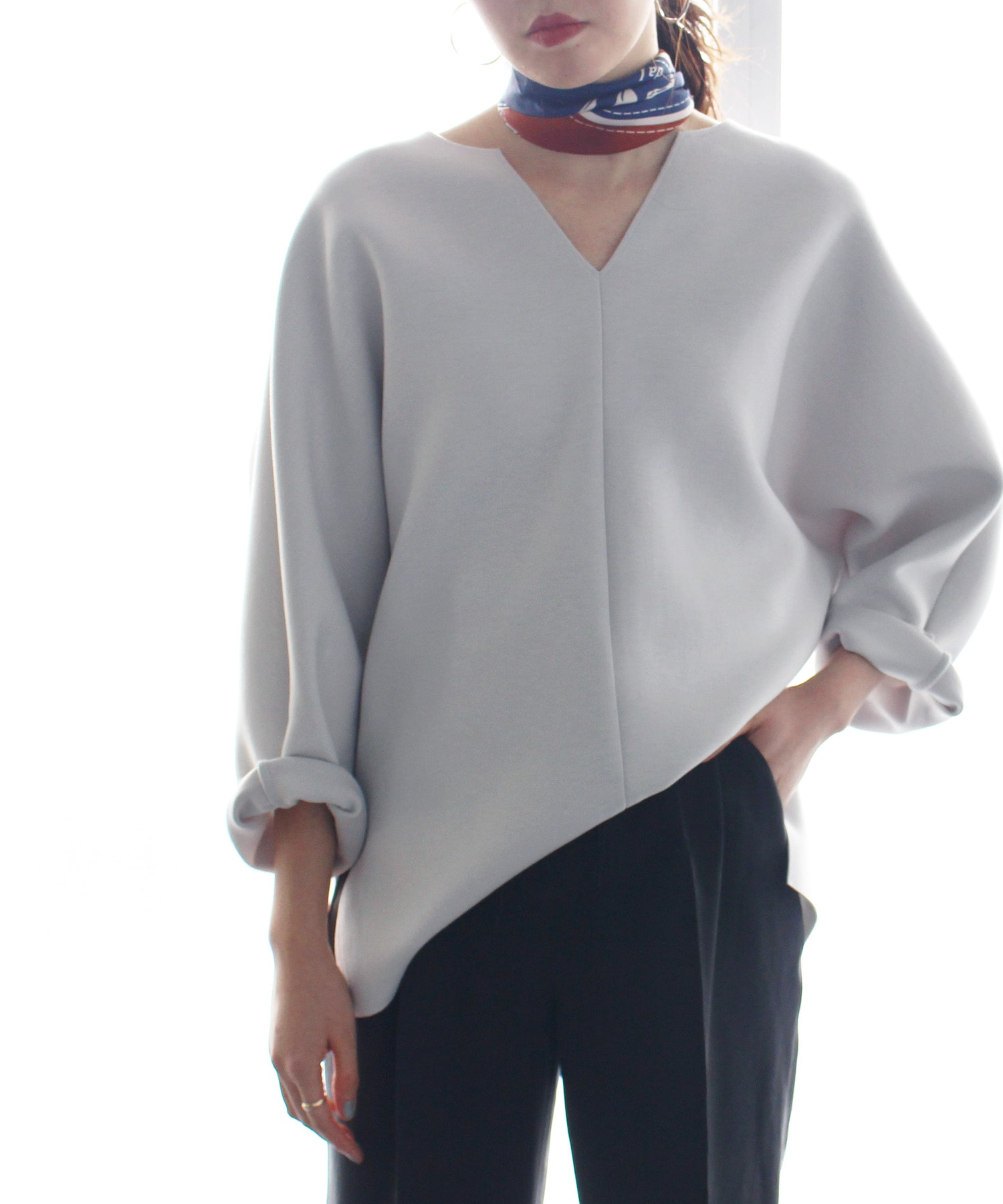 <B7>air cushion cardboard blouse