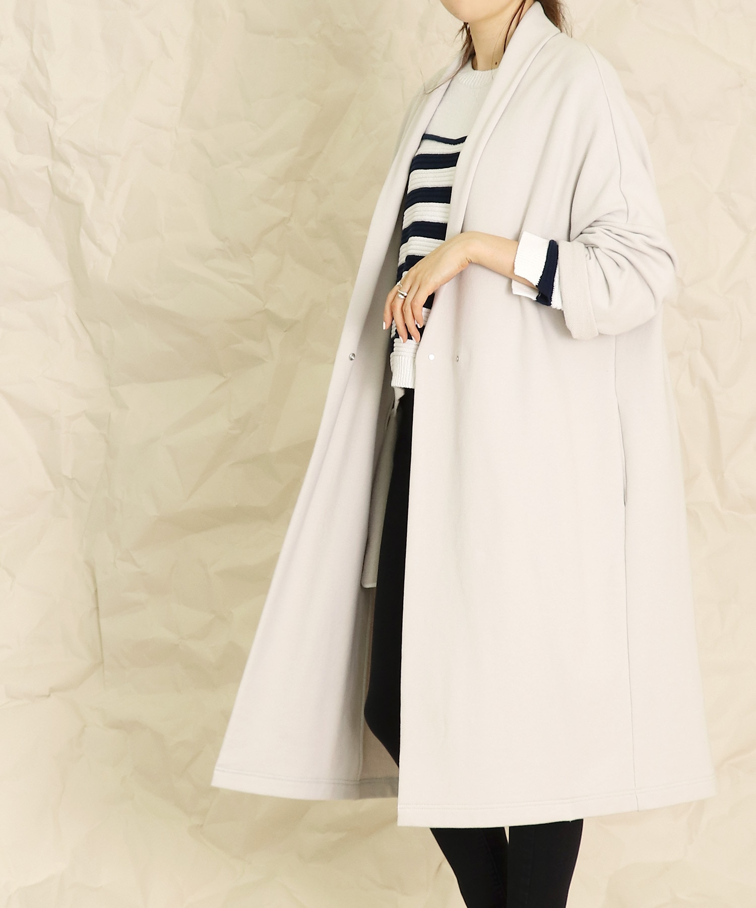 <B7>urake long gown
