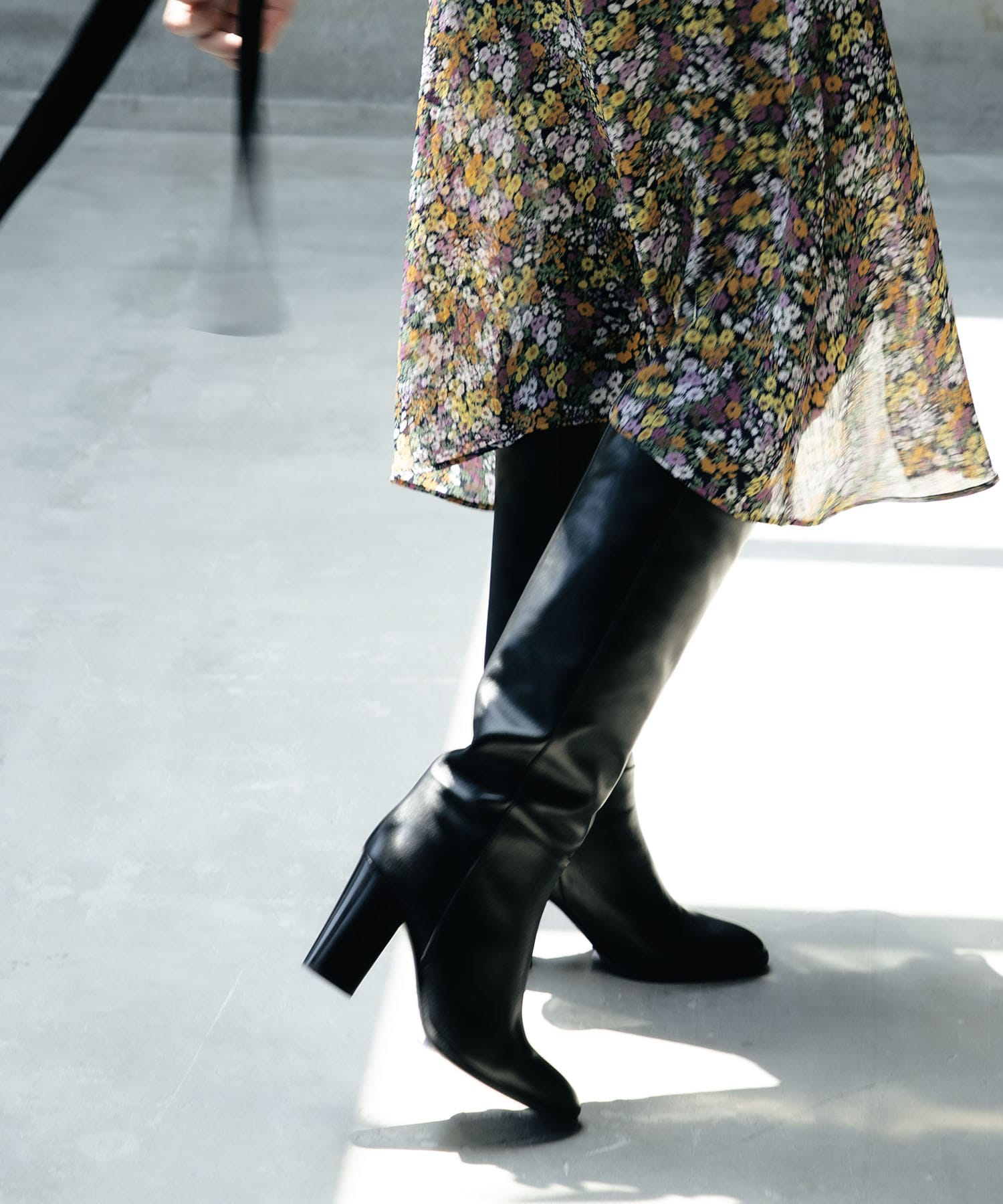 <FABIO RUSCONI>leather long boots