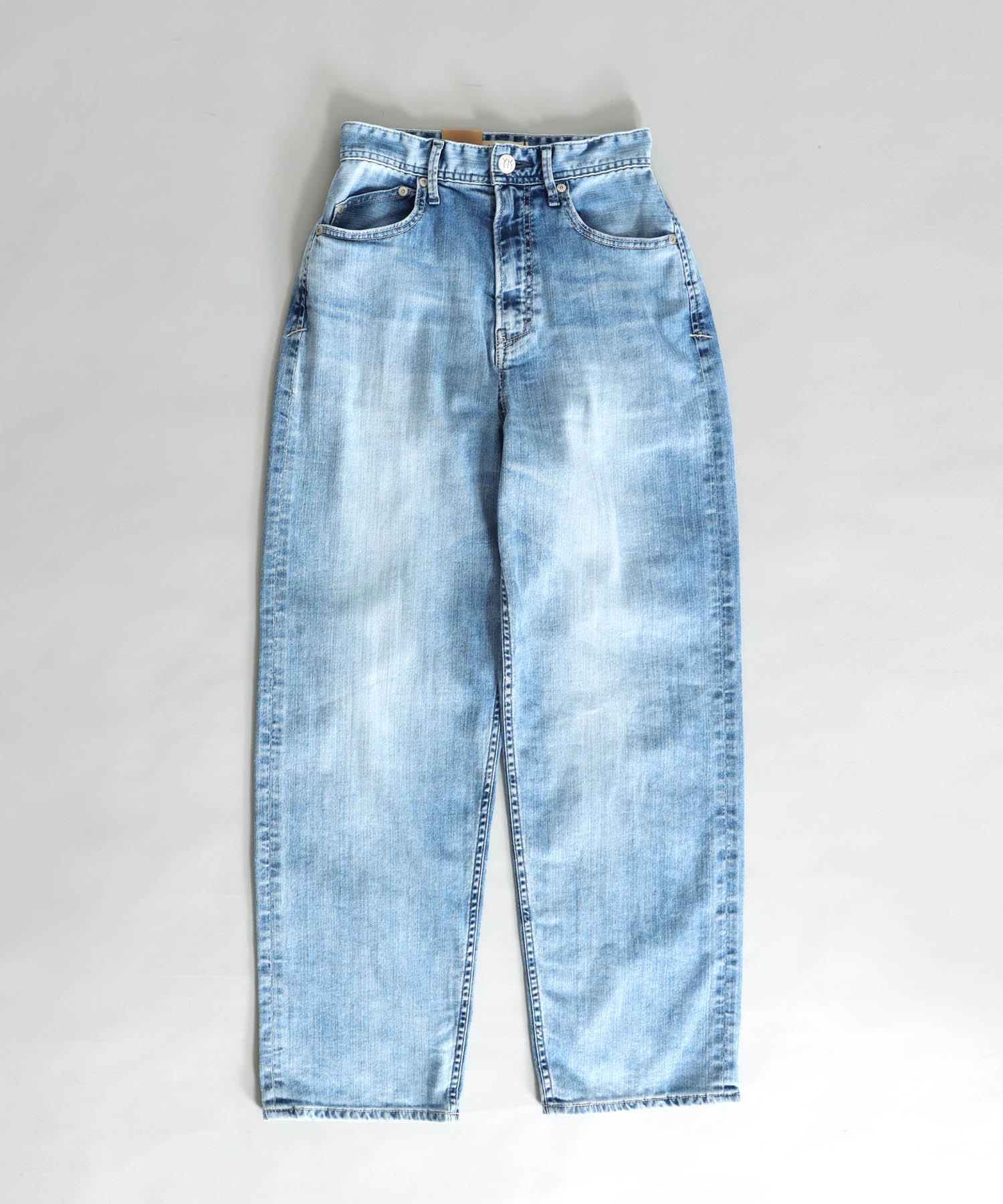<YANUK>COLLEEN wide tapered pants