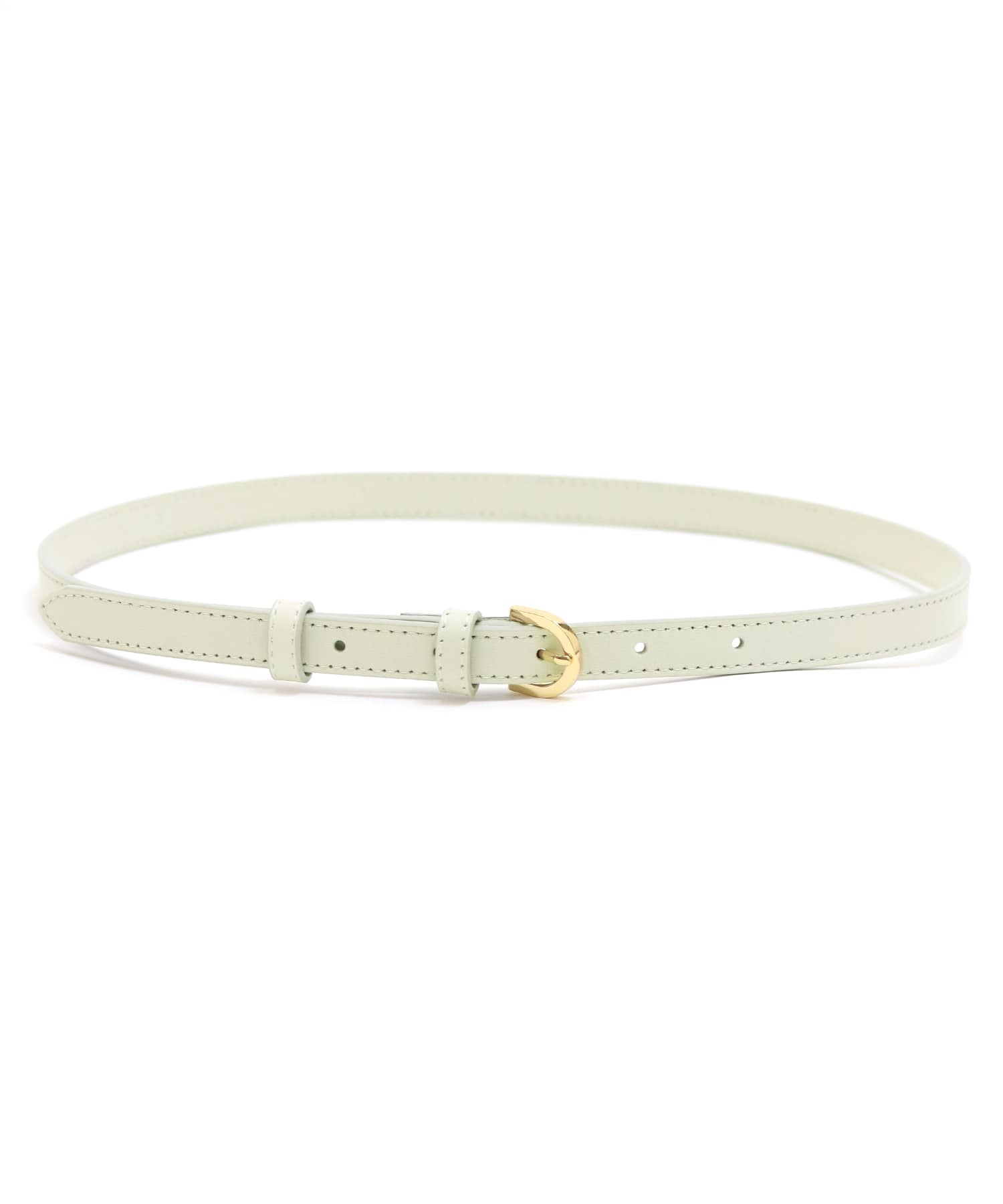 <MAISON BOINET >thin leather belt