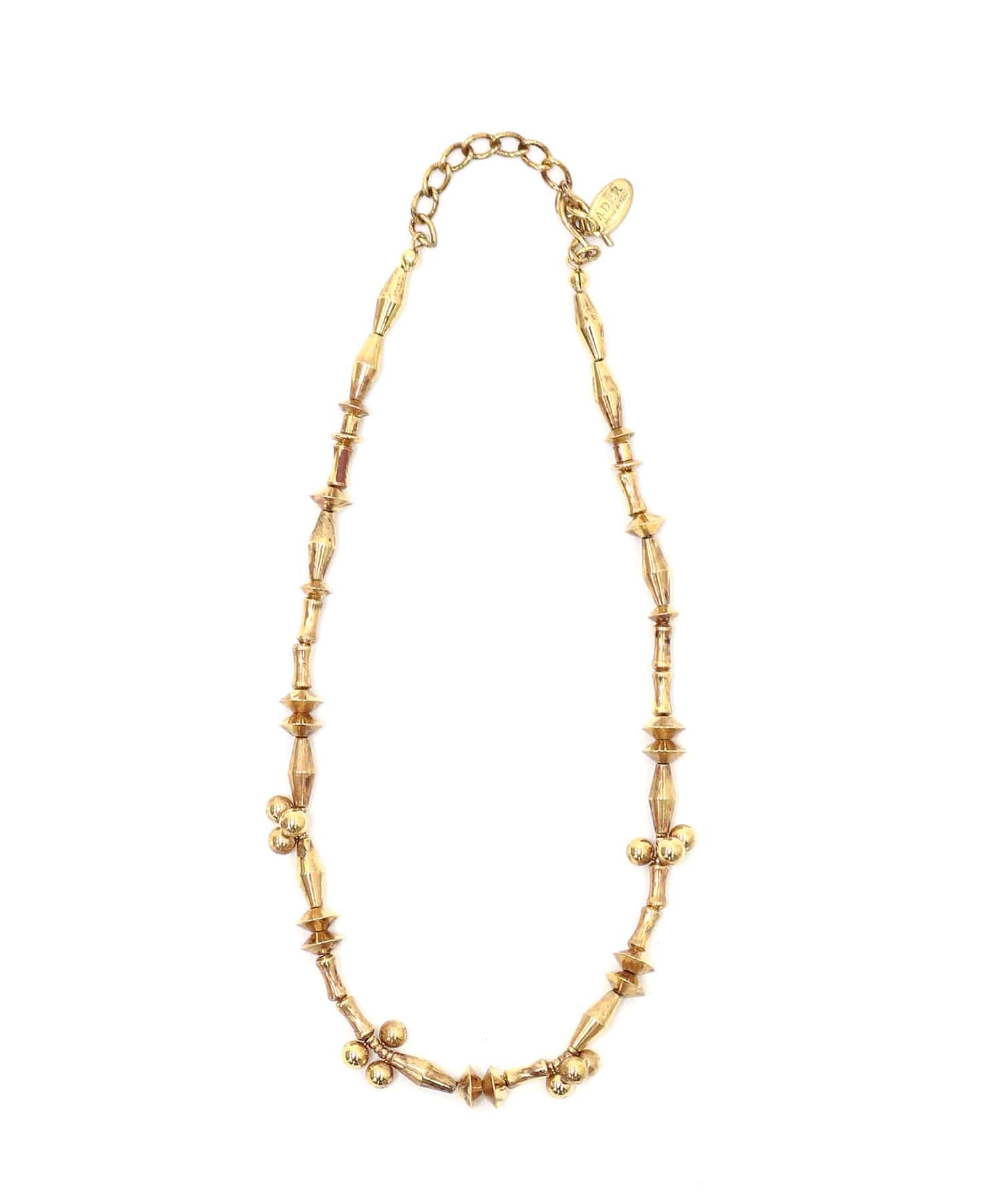 <ADER>LA TERRE metal beads necklace