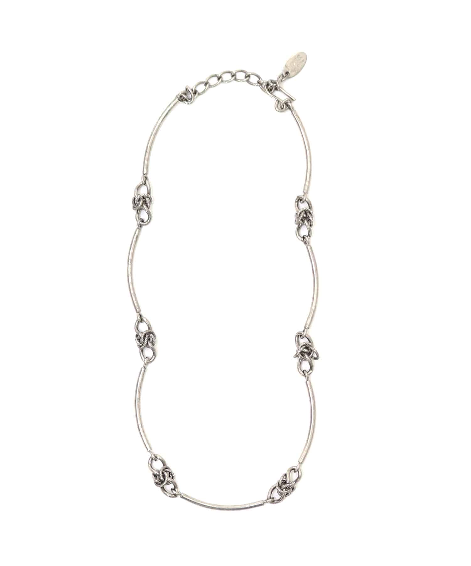 <ADER>POMPEII knot necklace