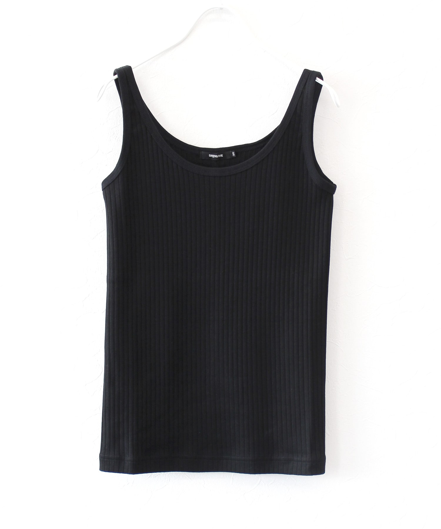 clean wide rib basic tank