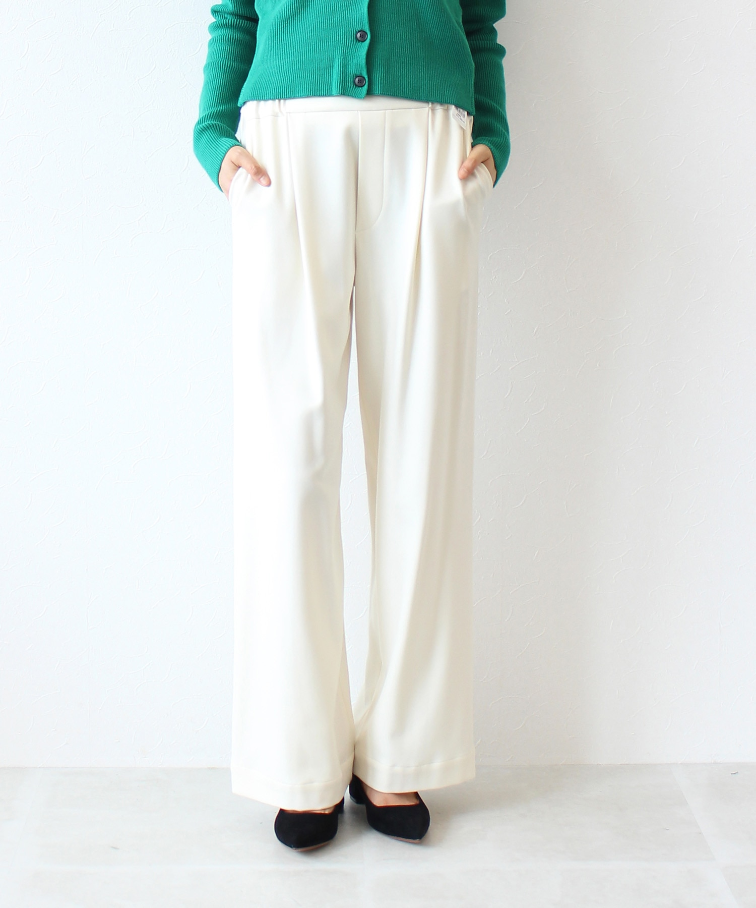 cosmical warm wide pants
