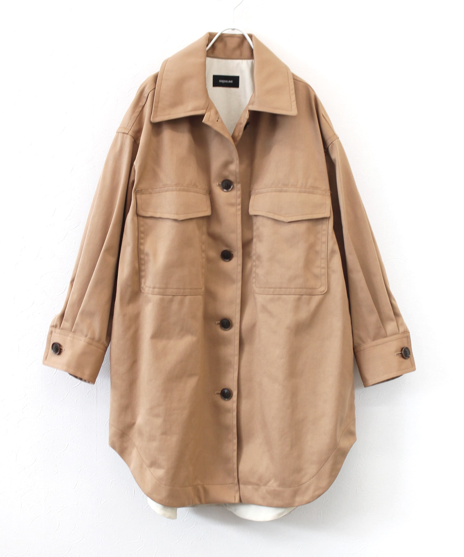big over shirts spring coat