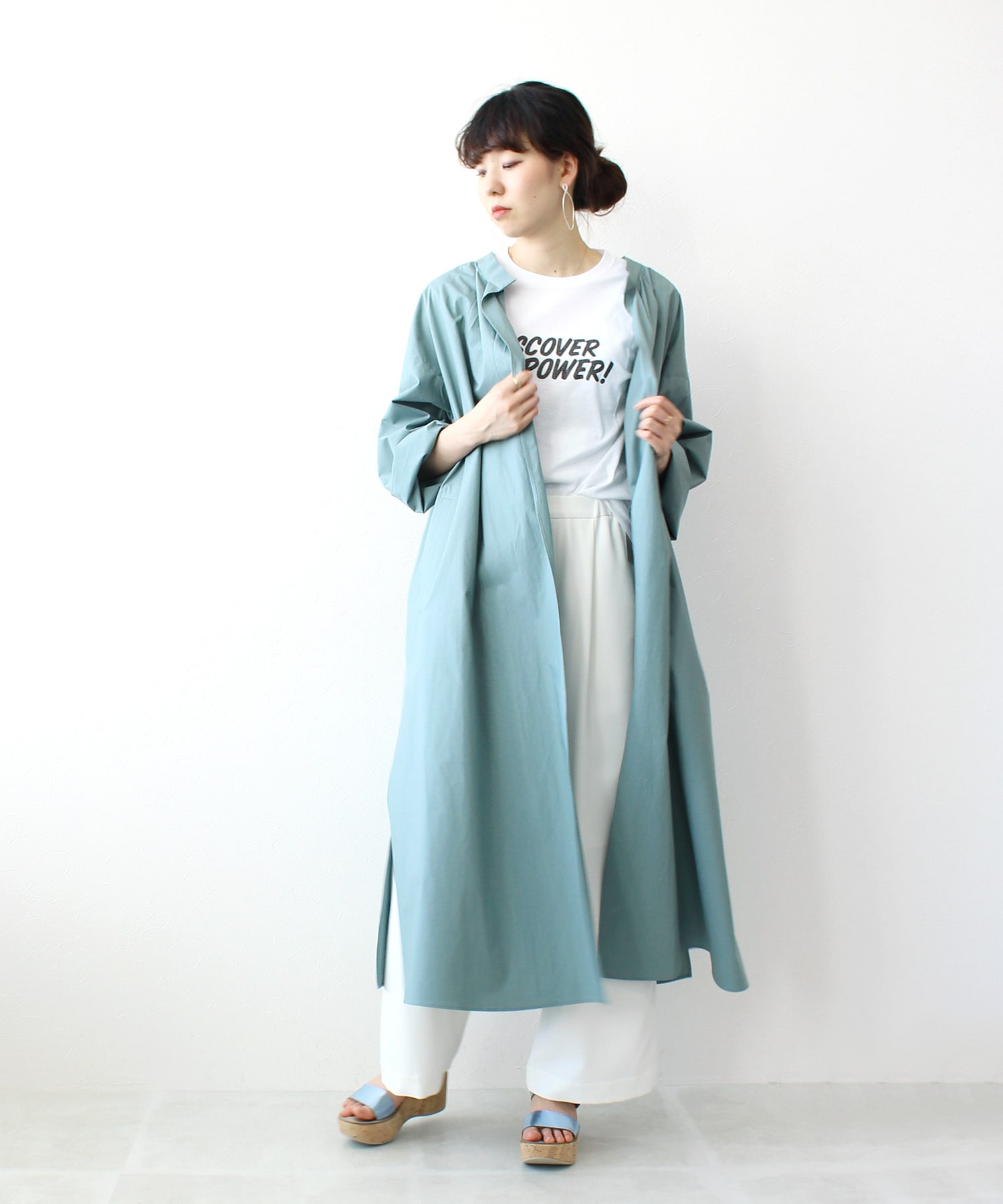 air cotton side vents coat