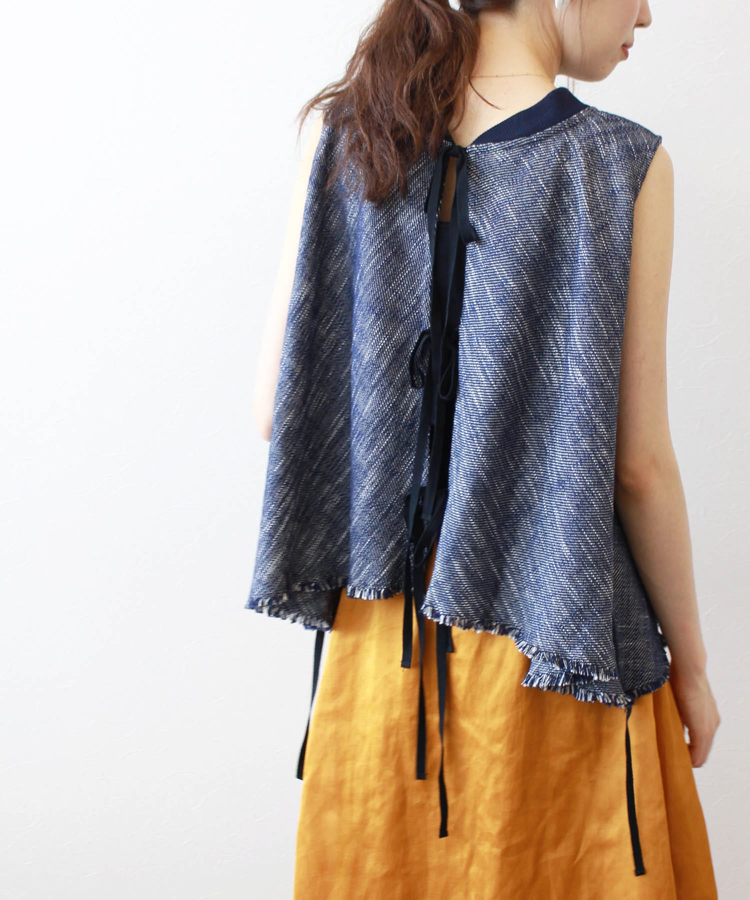 C/L asymmetry hem blouse
