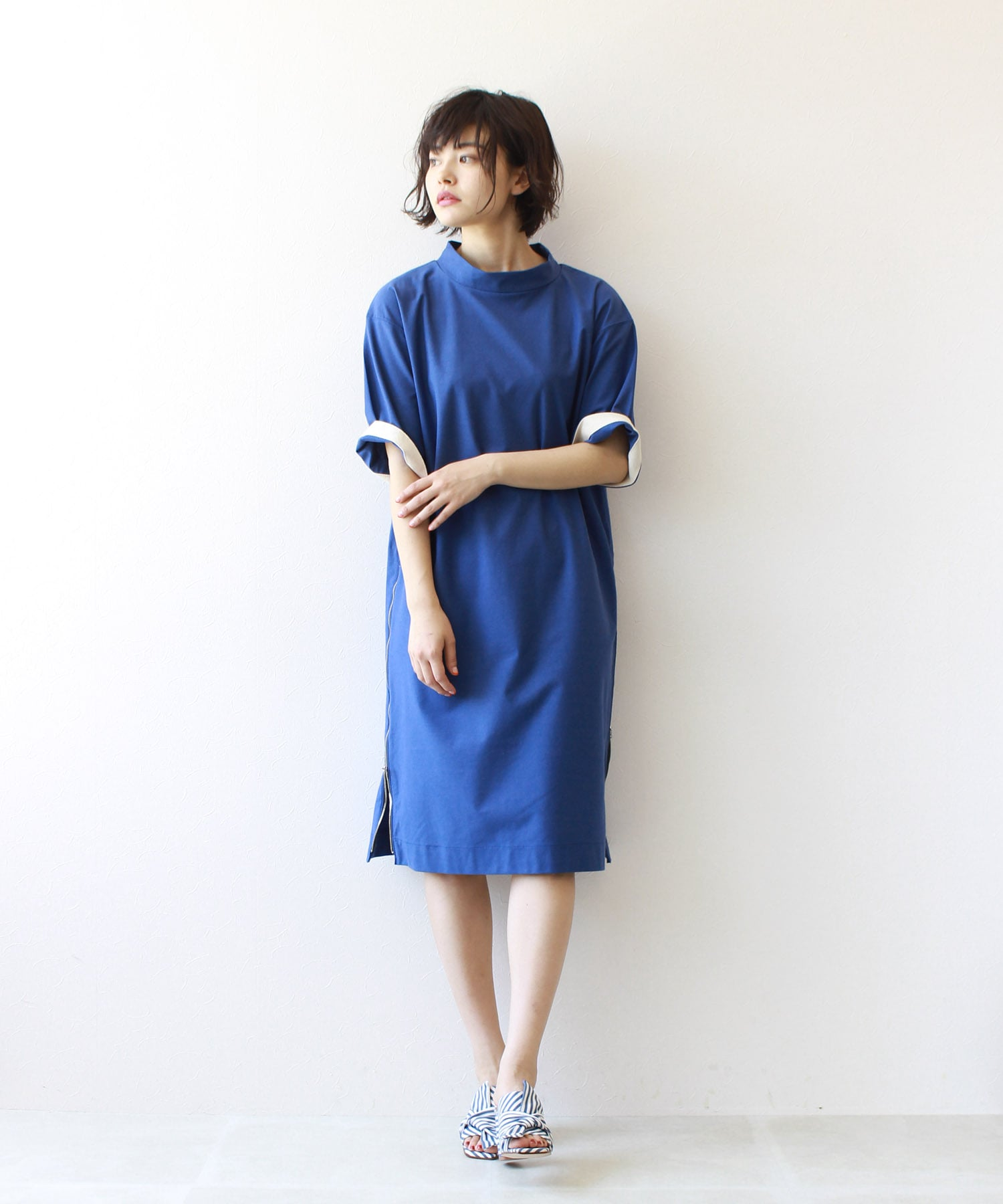 C/L compact jersey high/n dress