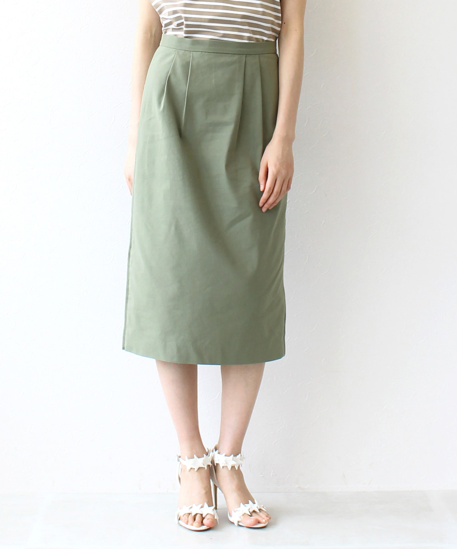 back rush basic tight skirt