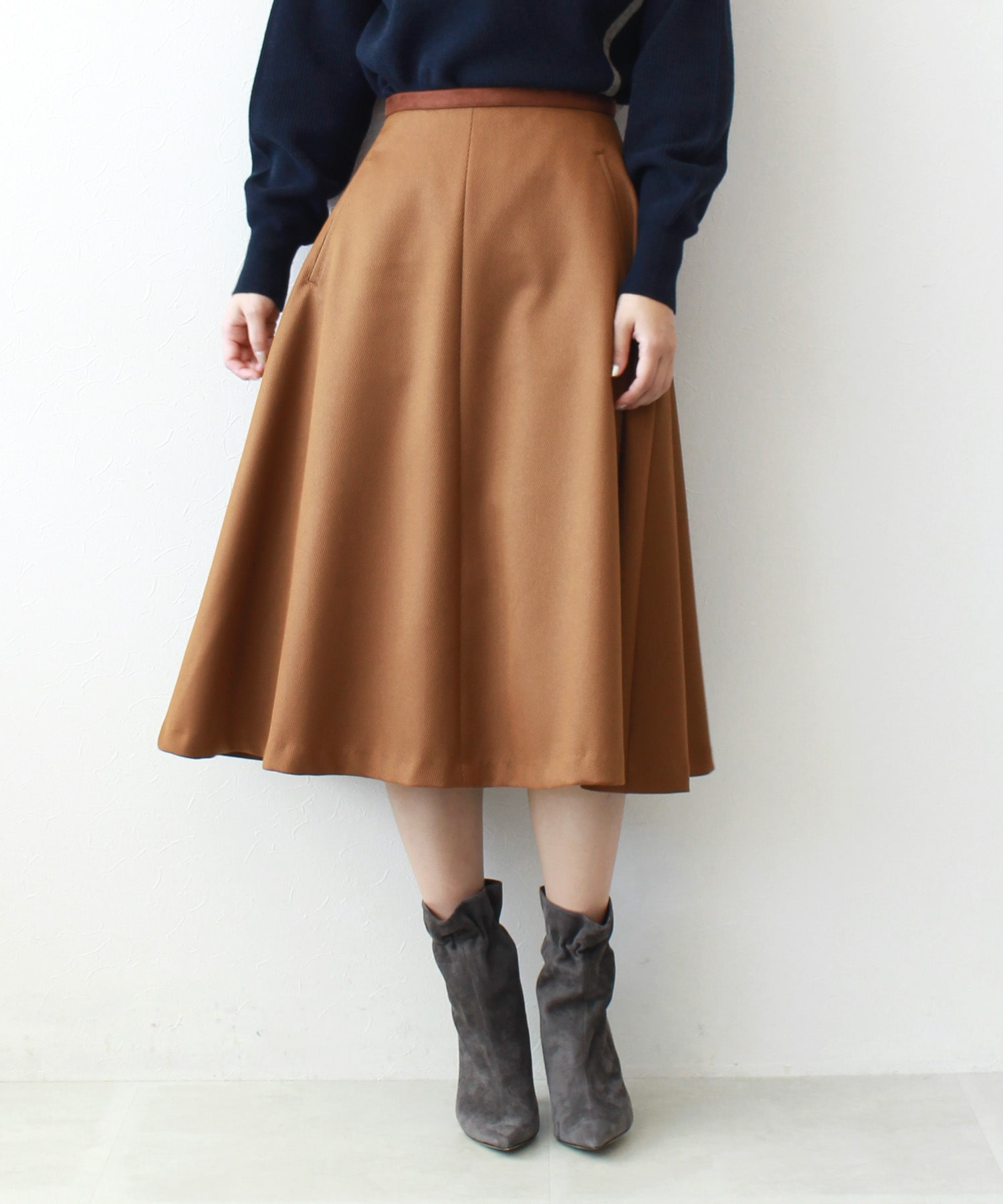 classic calze flare skirt