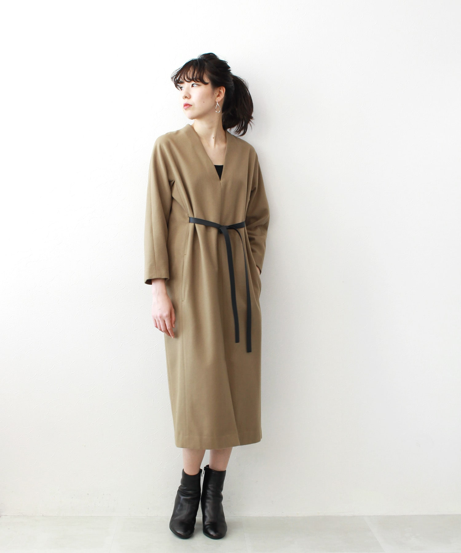 wool super120 lady dress
