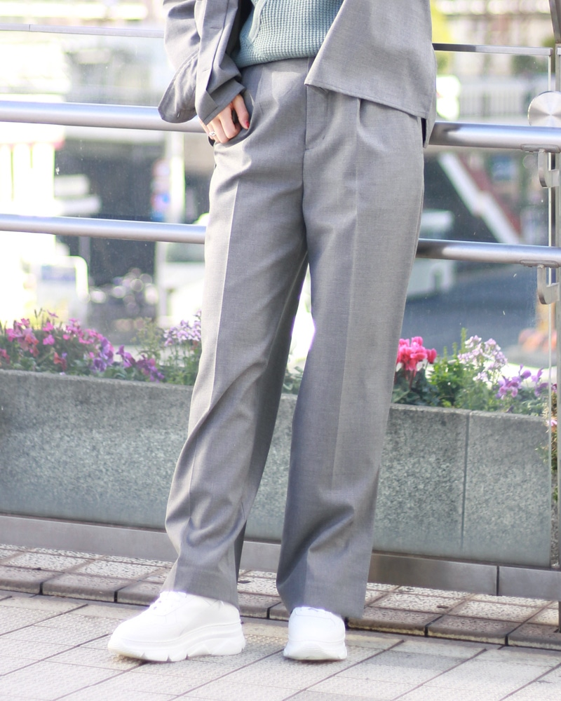 T/R set up side slit pants