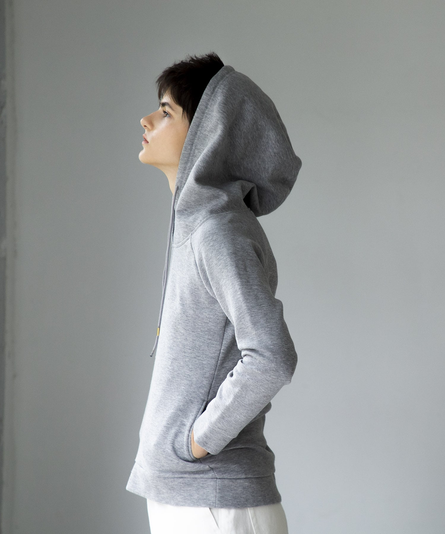 premium cotton bonding fit hoodie