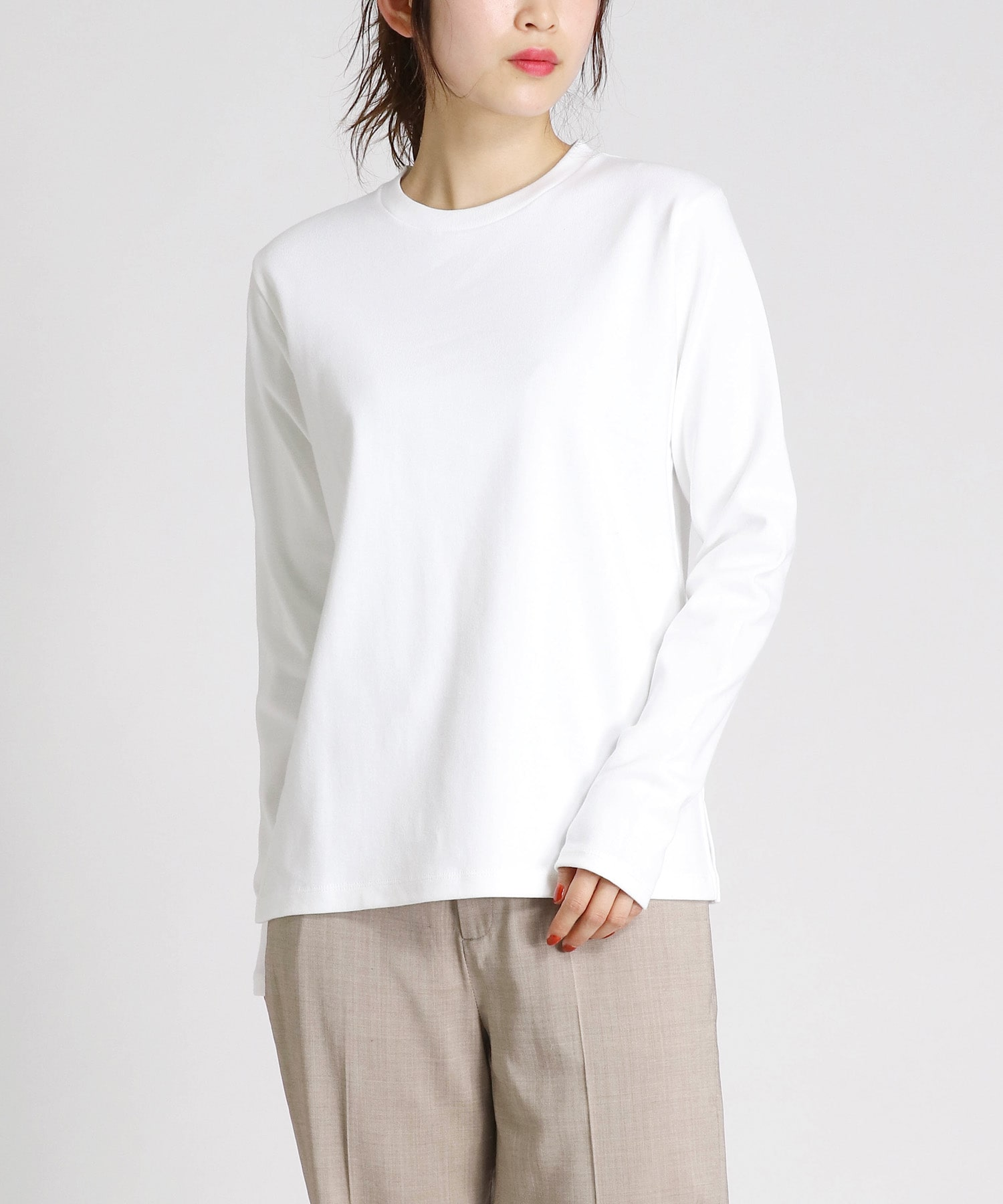 turfan cotton basic long tee