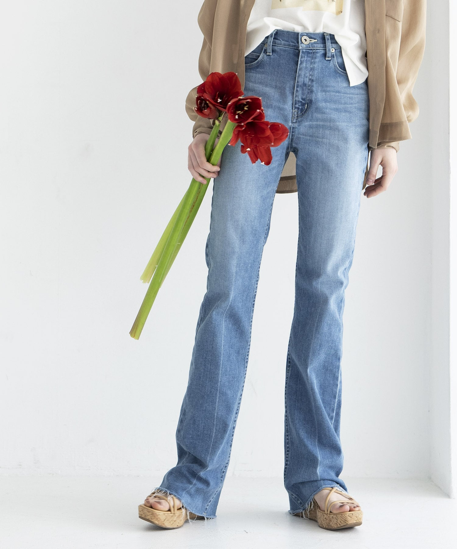 boots cut denim pants