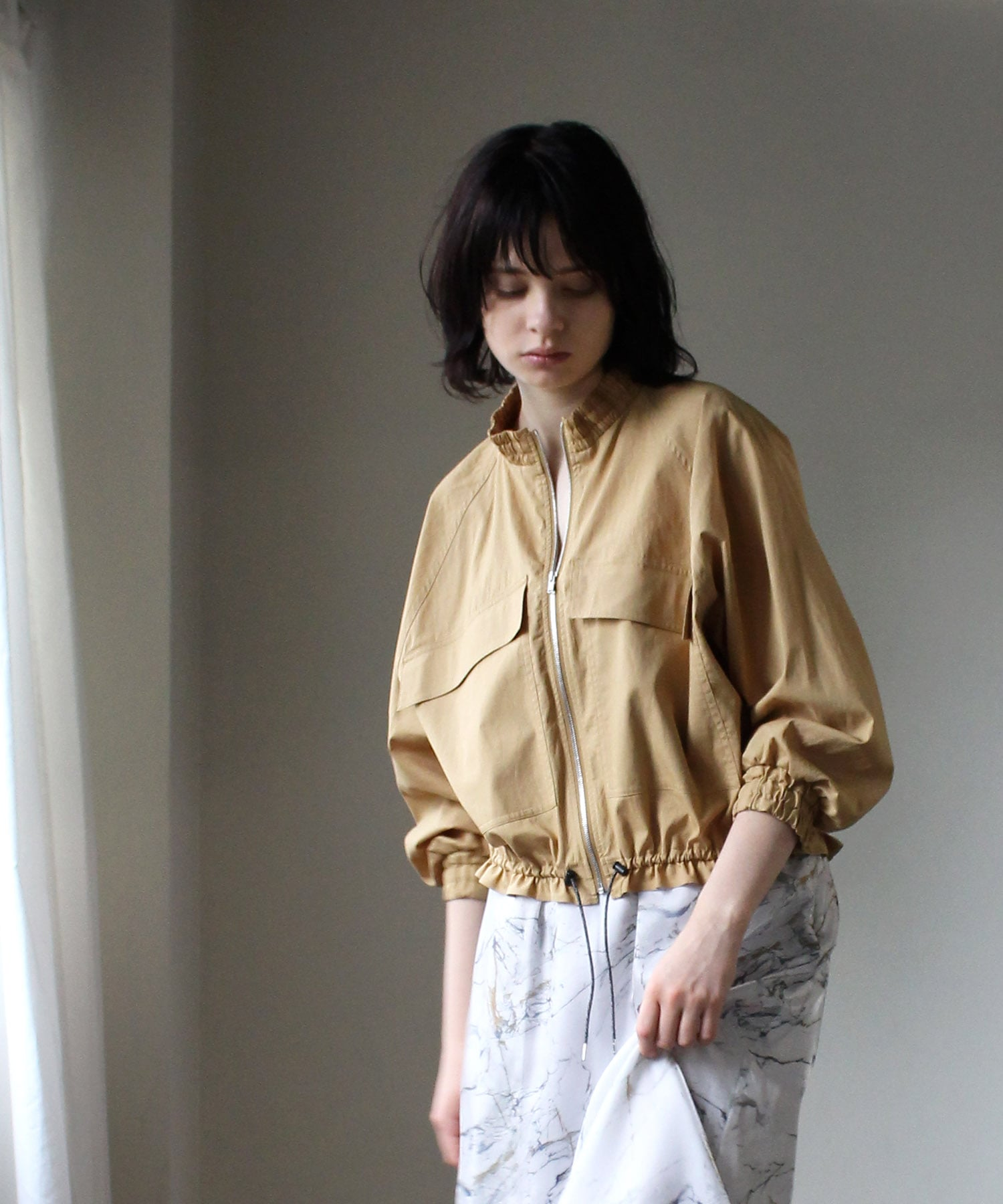 C/L dusty short blouson