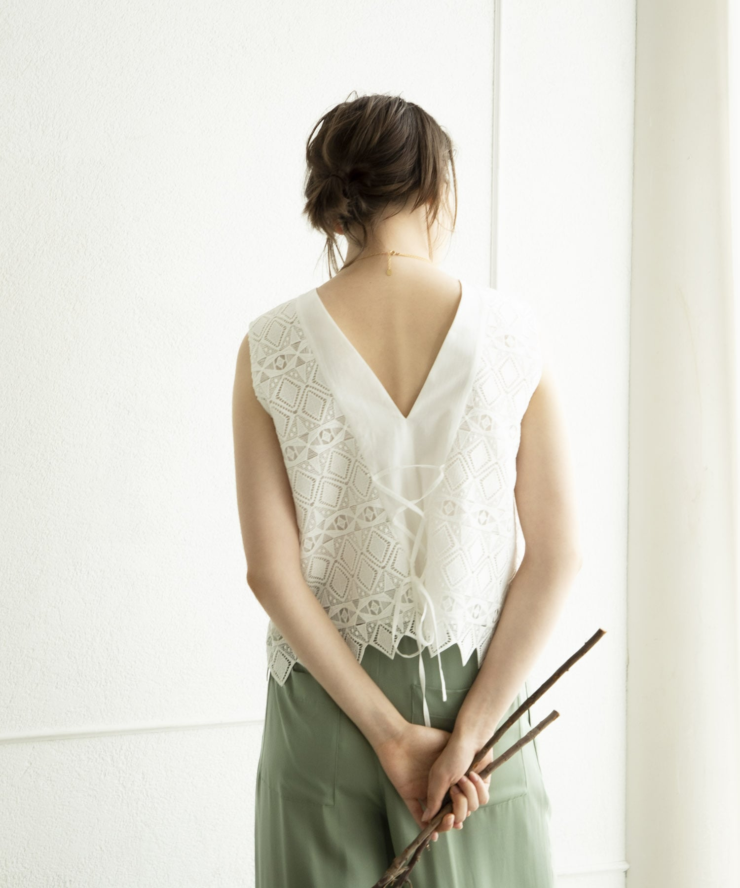 import lace blouse