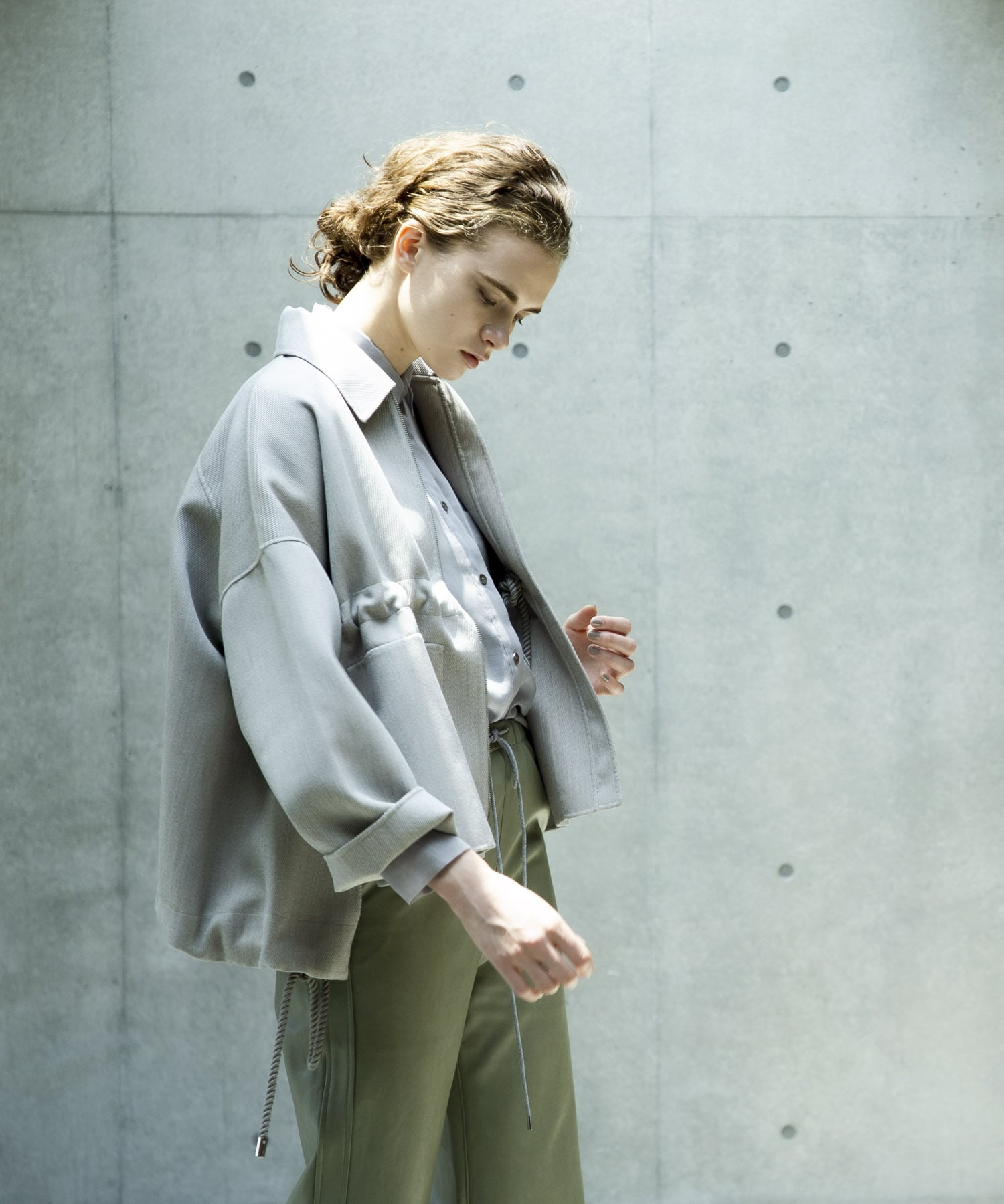 rever spindle design blouson