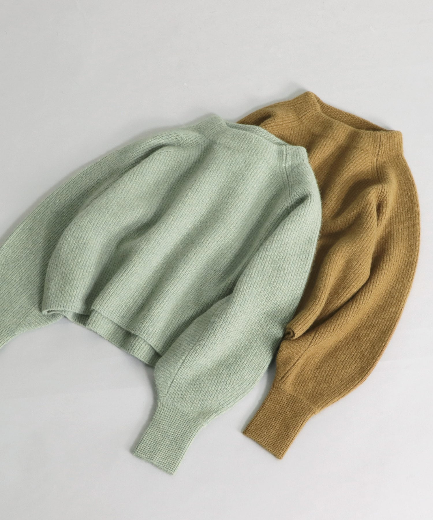 racoon wool pullover