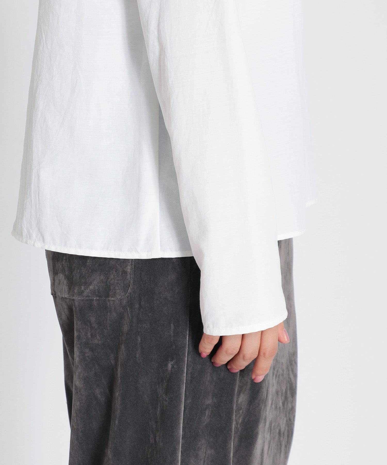 convenient fabric long tee