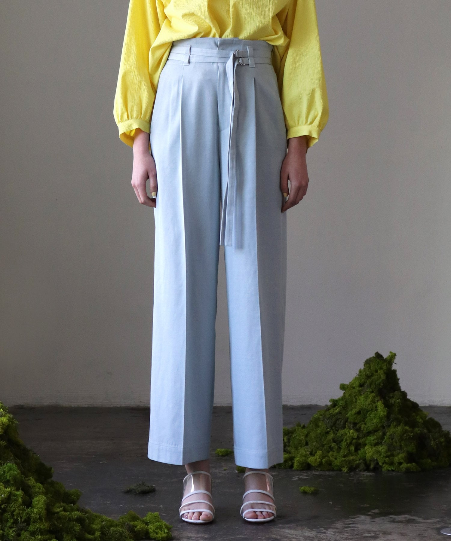 lyocell bio wide straight pants