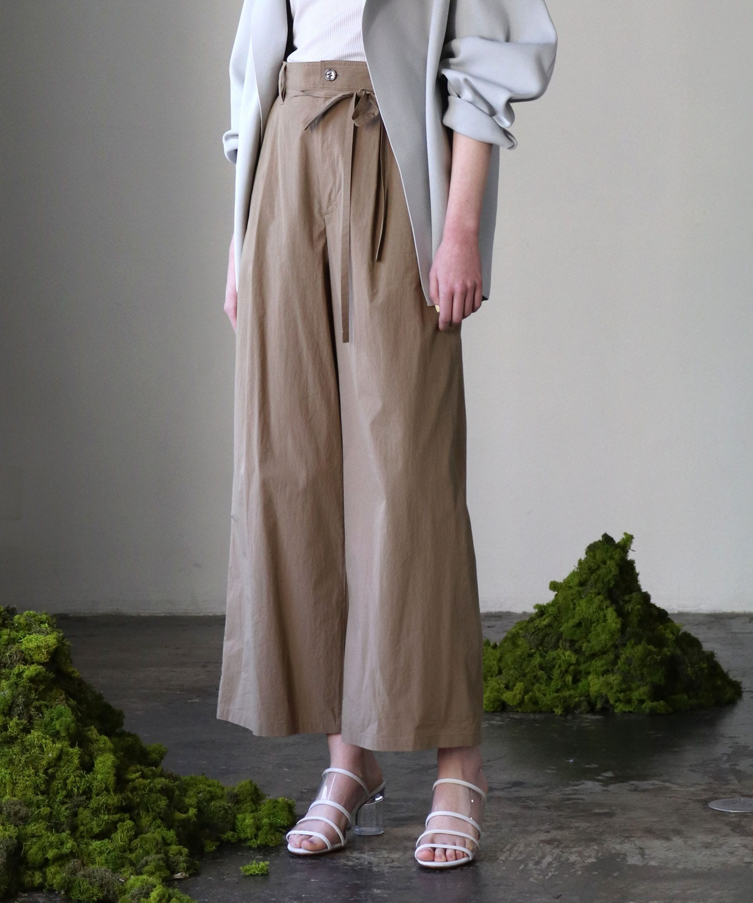 vintage typewriter wide pants