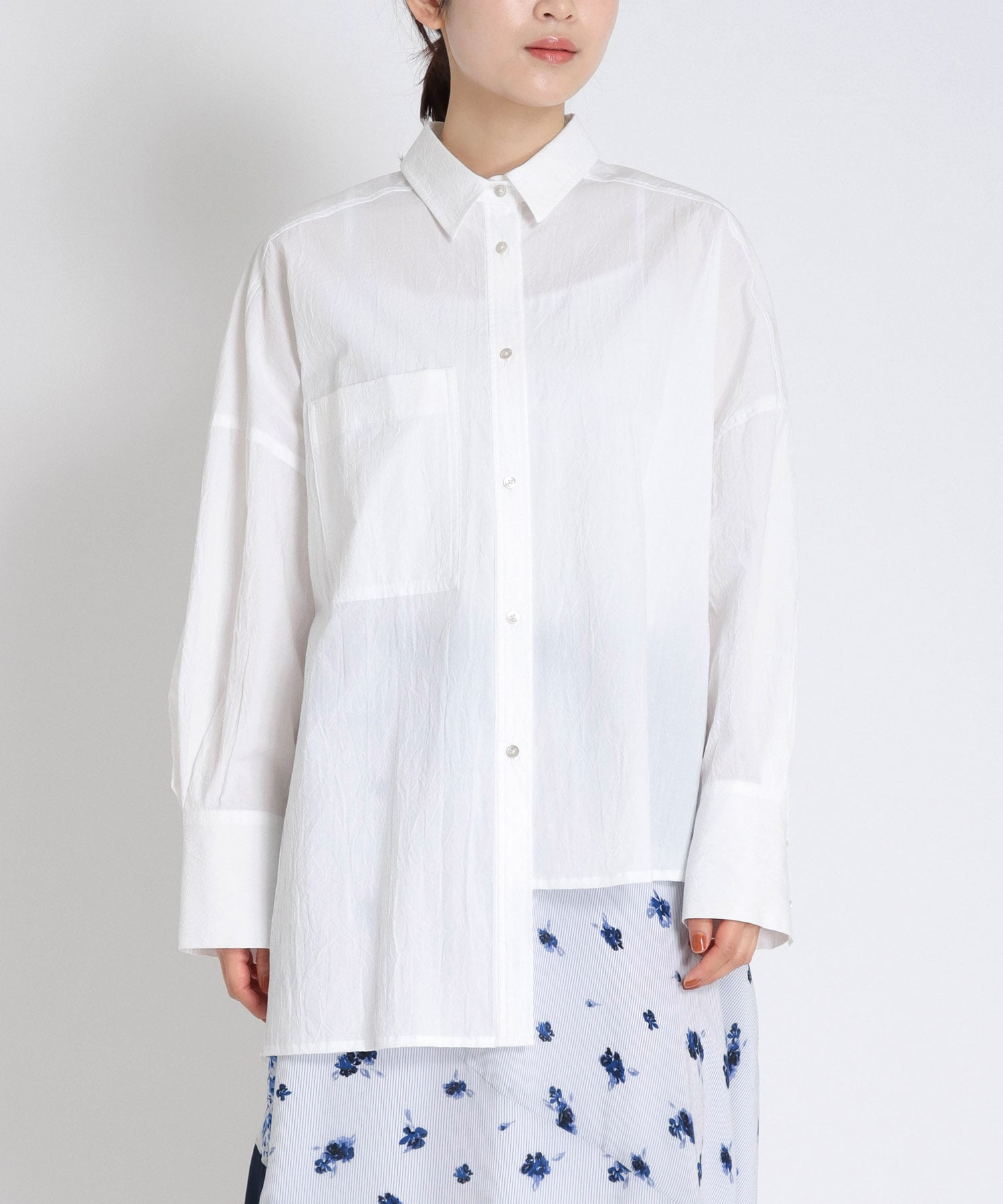 washer cotton over shirt