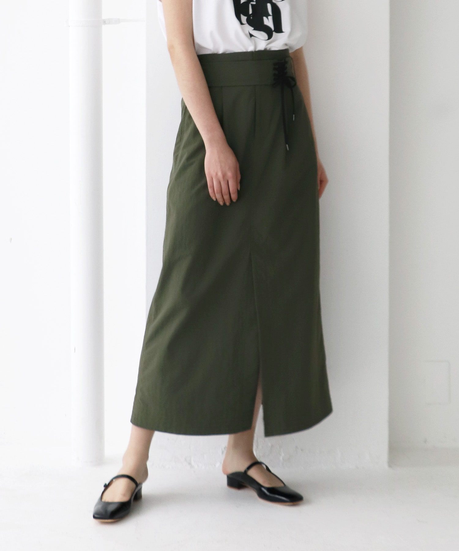 nylon washer long skirt