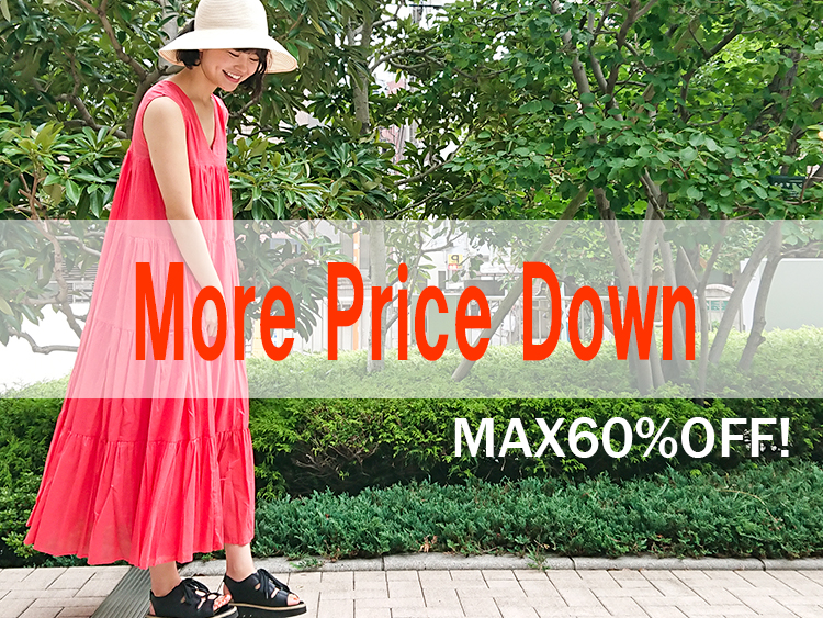 More Price Down max60%OFF!